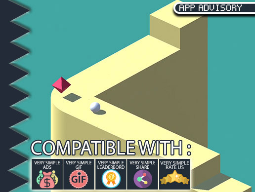 Ball Jump on Wall – Unity Game Complete Template Source Code